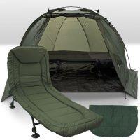 Палатки, легла, спални