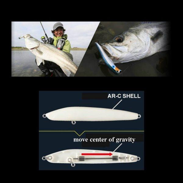 Воблер Shimano Exsence Agake Floating 120mm