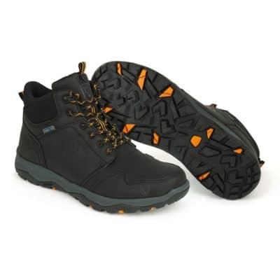 Обувки Fox Coll Black Orange Mid