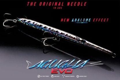 Воблер Game Laboratorio Aguglia EVO Floating за морски риболов на гръцки лефери, лавраци, паламуди, лици и маятико. Имитира движенията на зарган !