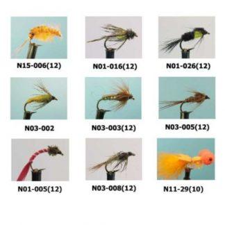 Мухи английски нимфи за риболов