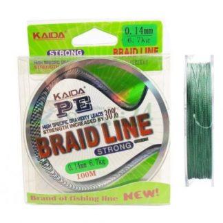 Плетено влакно KAIDA BRAID LINE 100M