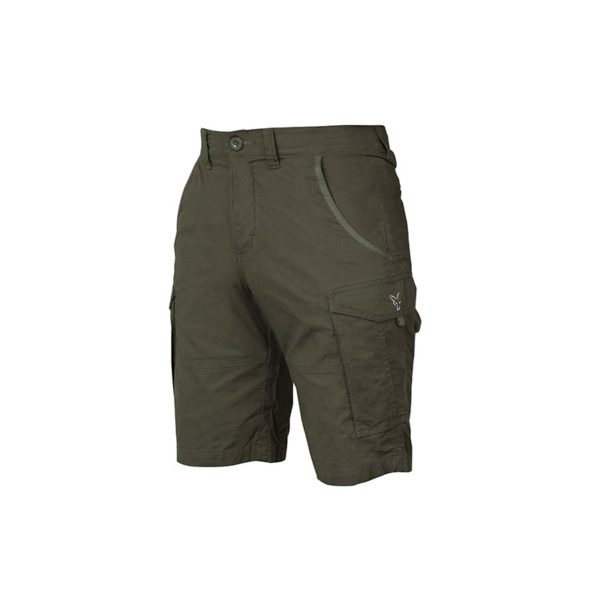 Къси панталони Fox Collection Green & Silver Combat Shorts