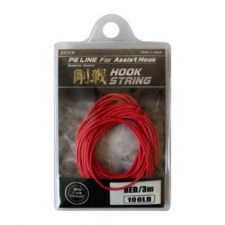 Повод за асист Gosen Hook String Red