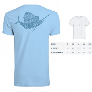 Тениска Costa Montage Sailfish SS