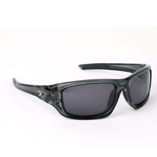 Очила Matrix - Trans Black Wraps/Grey Lens