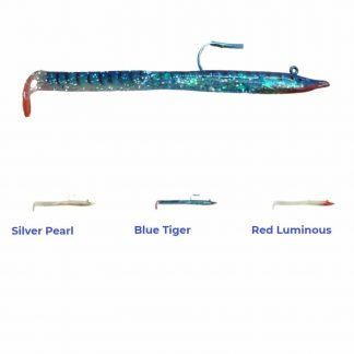 Силикон Red Gill Blue Tiger Evolution