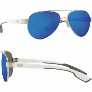 Очила Costa - Loreto - Palladium w/White Temples - Blue Mirror 580G