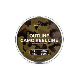 Монофилно влакно Avid Carp Outline Camo Reel