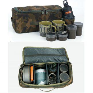 Несесер с комплект къмпинг принадлежности Fox Camolite Brew Kit Bag