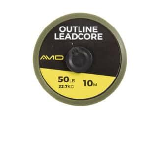 Ледкор Avid Carp Outline Leadcore