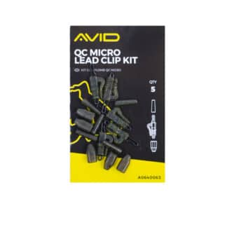 Материали за монтаж Avid Carp Outline QC Micro Lead Clip Kit