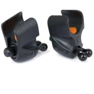 Регулируем клипс за въдици Fox Black Label Adjustable Rod Clip