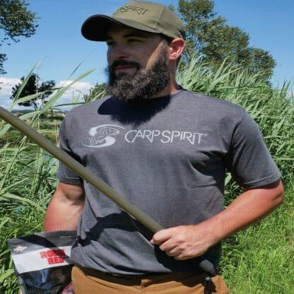 Тениска Carp Spirit T-Shirt Charcoal