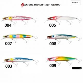 Воблер Shimano Hirame Minnow 135F Flash Boost - плуващ