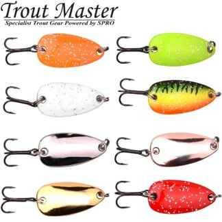 Клатушки за пъстърва-SPRO Trout Master Leaf 1.4g