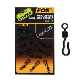 Вирбел Fox Kwik Change Mini Hook Swivels