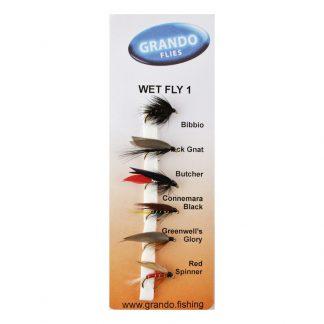 Мухи комплект Wet Fly - 1