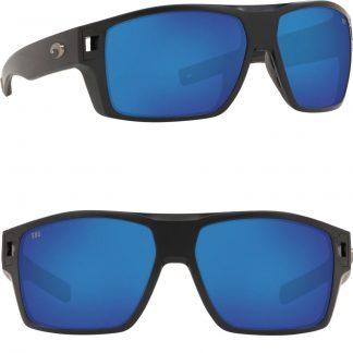Очила Costa Diego, Matte Black, Blue Mirror 580G