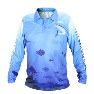 Блуза с дълъг ръкав с яка FilStar Wahoo Technical